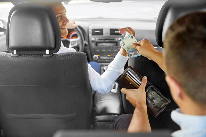 taxi-zahlungsmittel